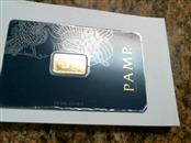 PAMP SUISSE Gold Bullion 2.5G GOLD BAR